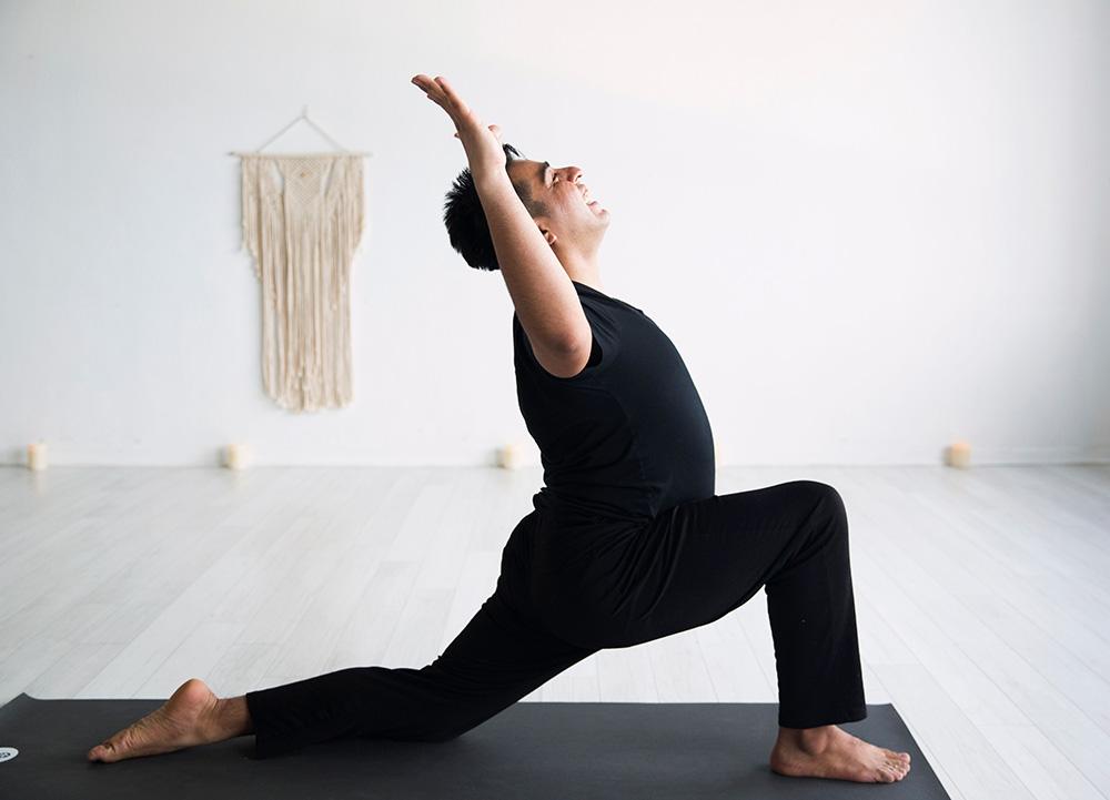 Warrior 1 | Uptown Yoga