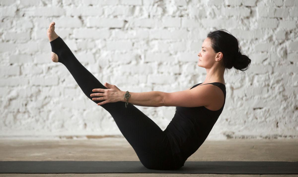Navasana Yoga Pose