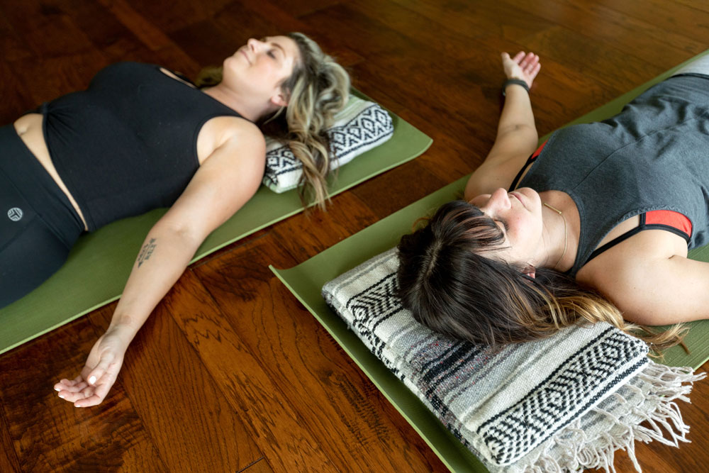 Yoga practice self-care