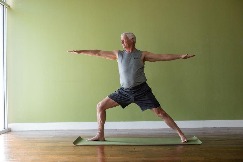 yoga journey to health - brad walters