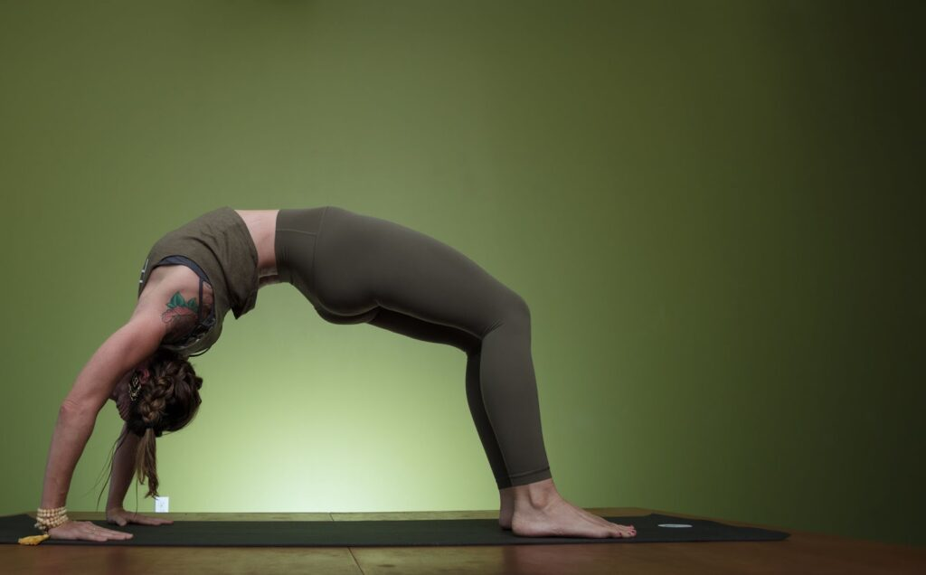 Yoga Pose Uptown Yoga